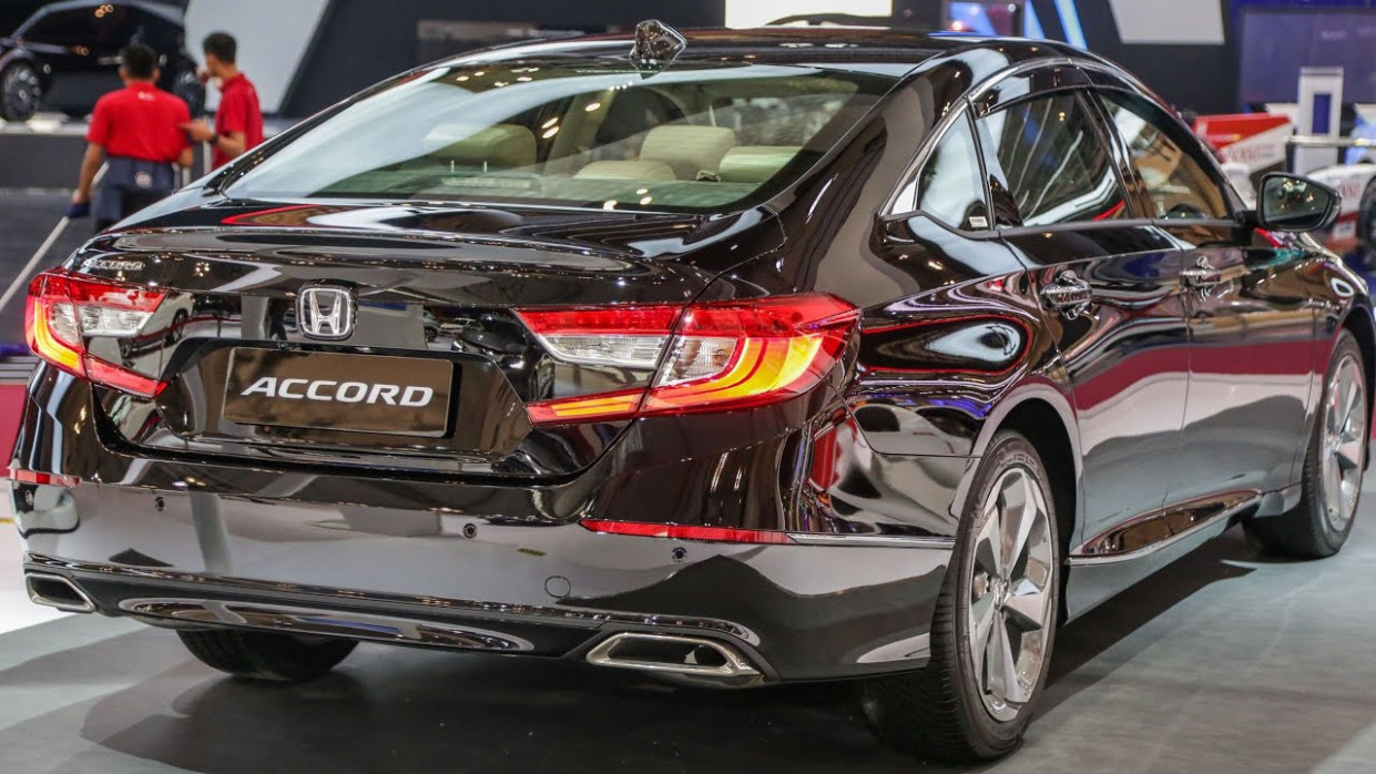 NEW 6 HONDA ACCORD - MODERN MIDSIZE SEDAN - EXTERIOR AND INTERIOR - honda accord 2020 interior