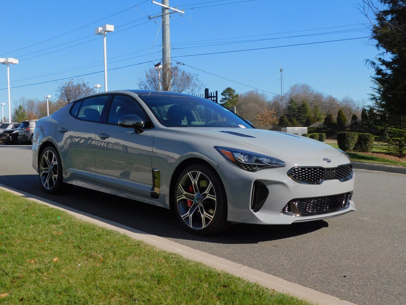 New 6 Kia Stinger GT6
