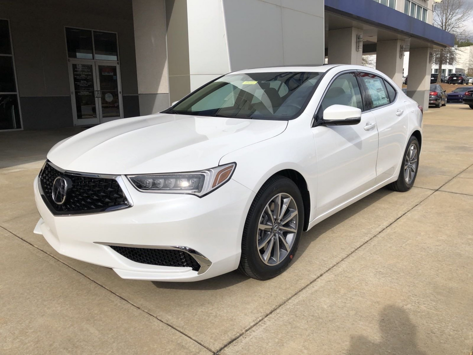 New 7 Acura TLX w/Technology Pkg With Navigation - 2020 acura for sale