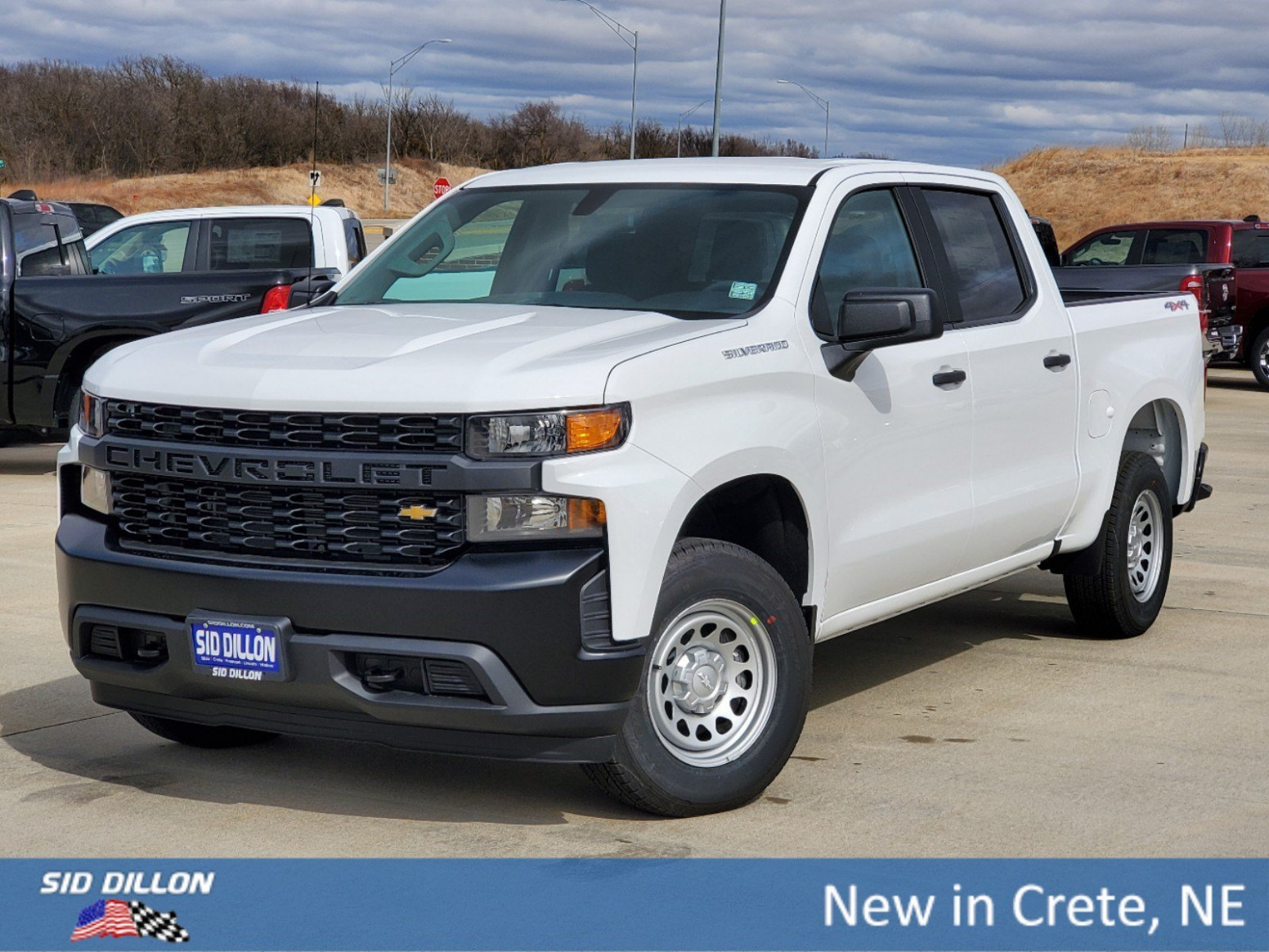 New 7 Chevrolet Silverado 7 Work Truck 7WD - chevrolet work truck 2020