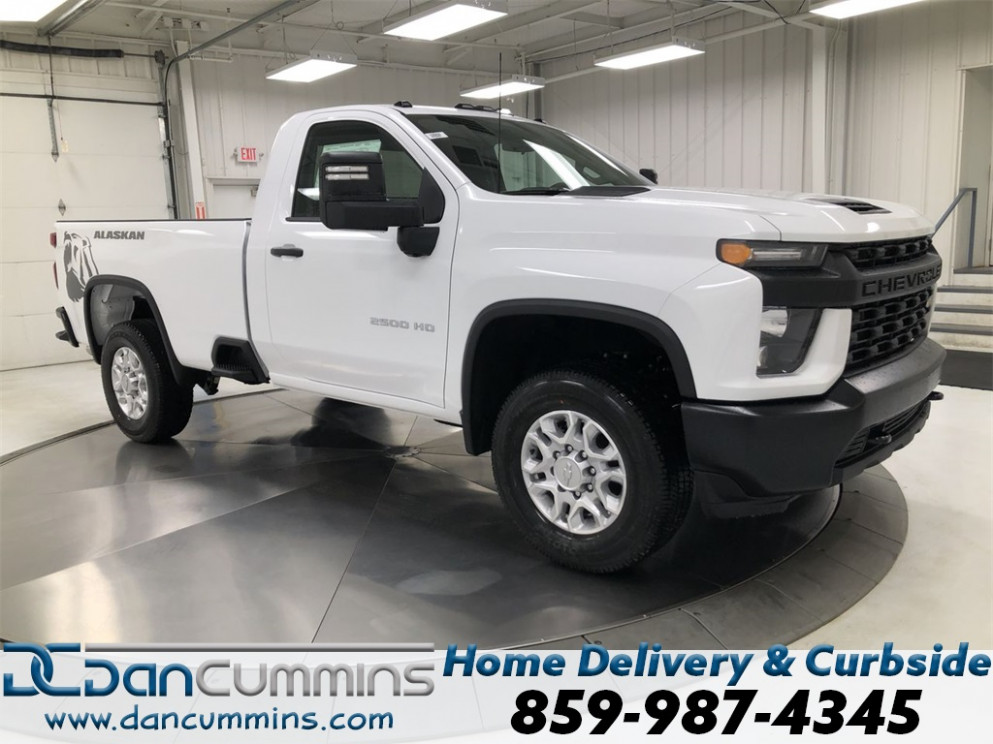 New 7 Chevrolet Silverado 7HD Work Truck Standard Cab 7WD - chevrolet work truck 2020