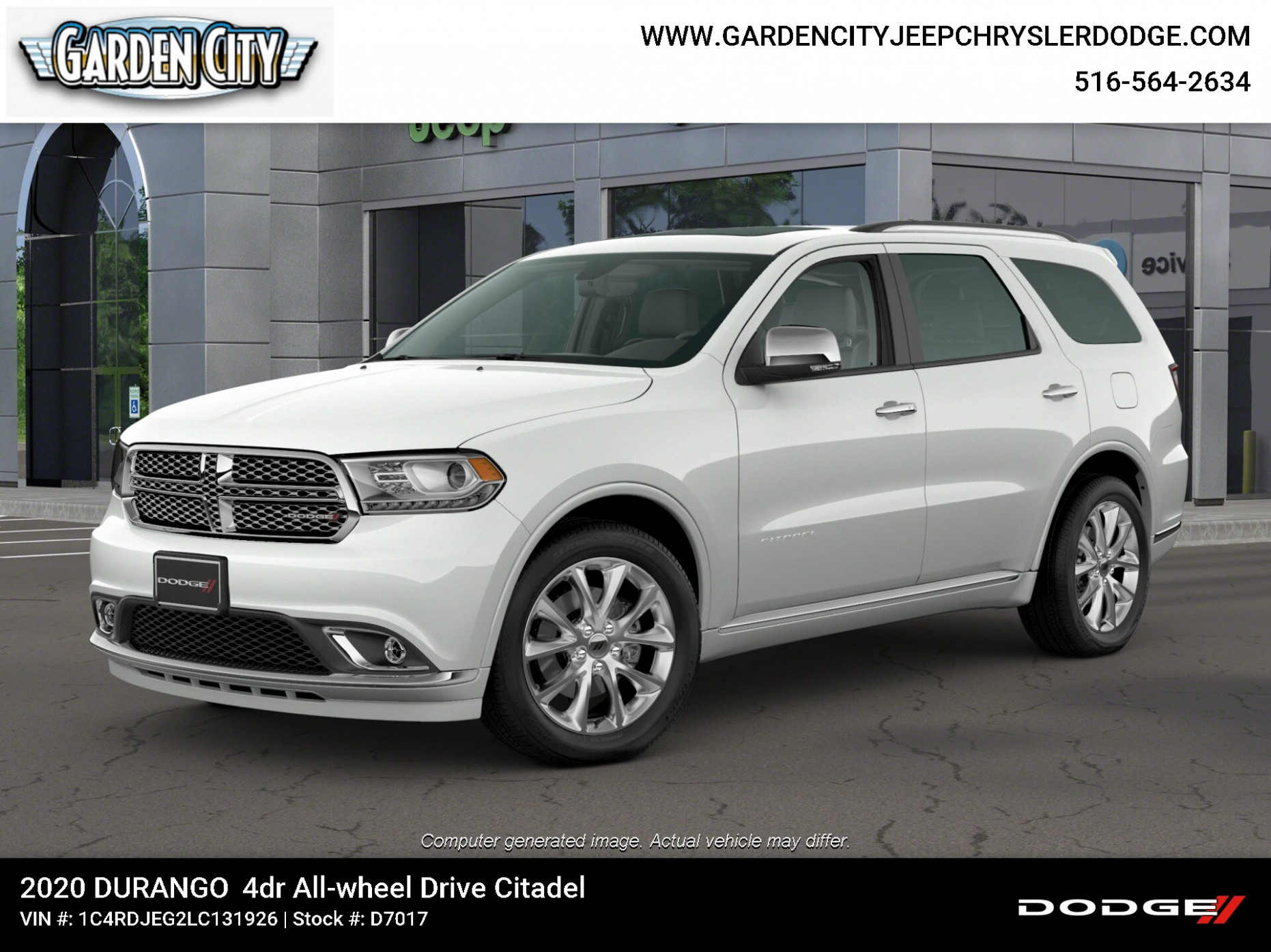 New 7 Dodge Durango CITADEL AWD For Sale in Hempstead ..