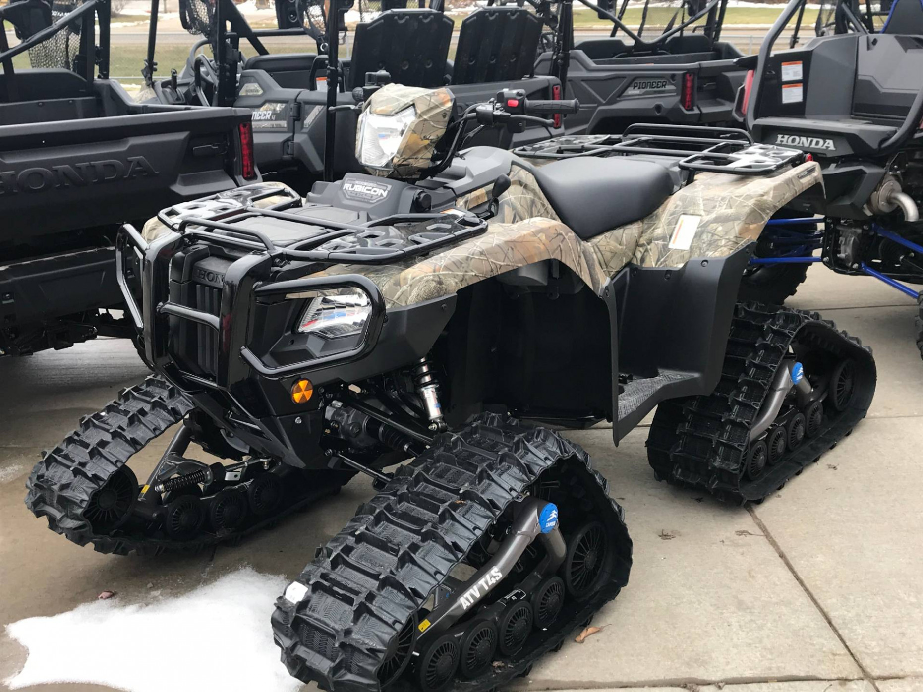 New 7 Honda FourTrax Foreman Rubicon 7x7 Automatic DCT EPS ..