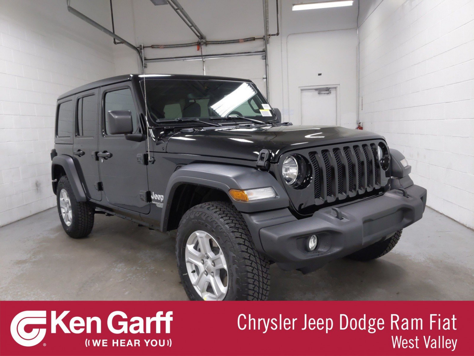 NEW 7 JEEP WRANGLER UNLIMITED SPORT S 7X7