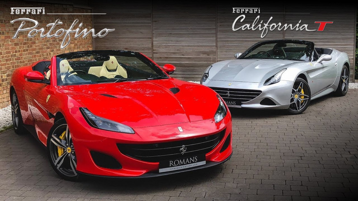 New 8 Ferrari Portofino vs Ferrari California T - What's changed?