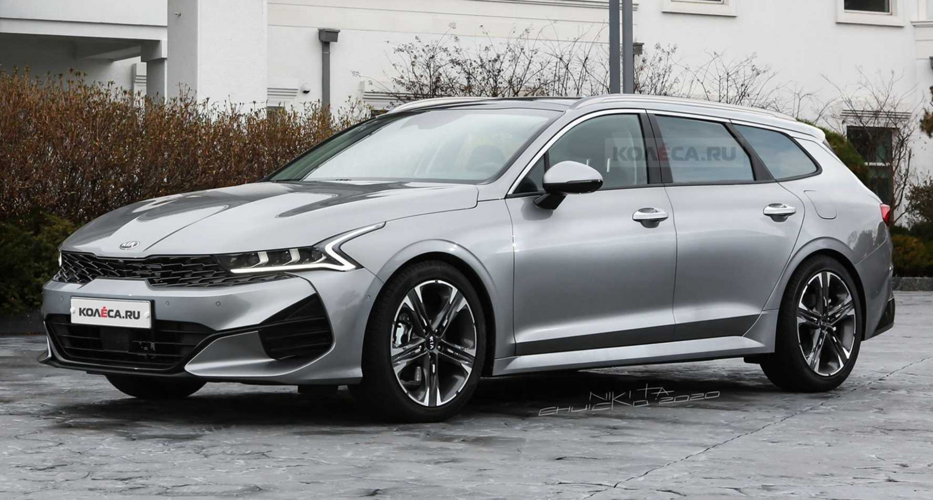 New 8 Kia Optima (K8) Looks Seductive As A Sports Wagon | Carscoops