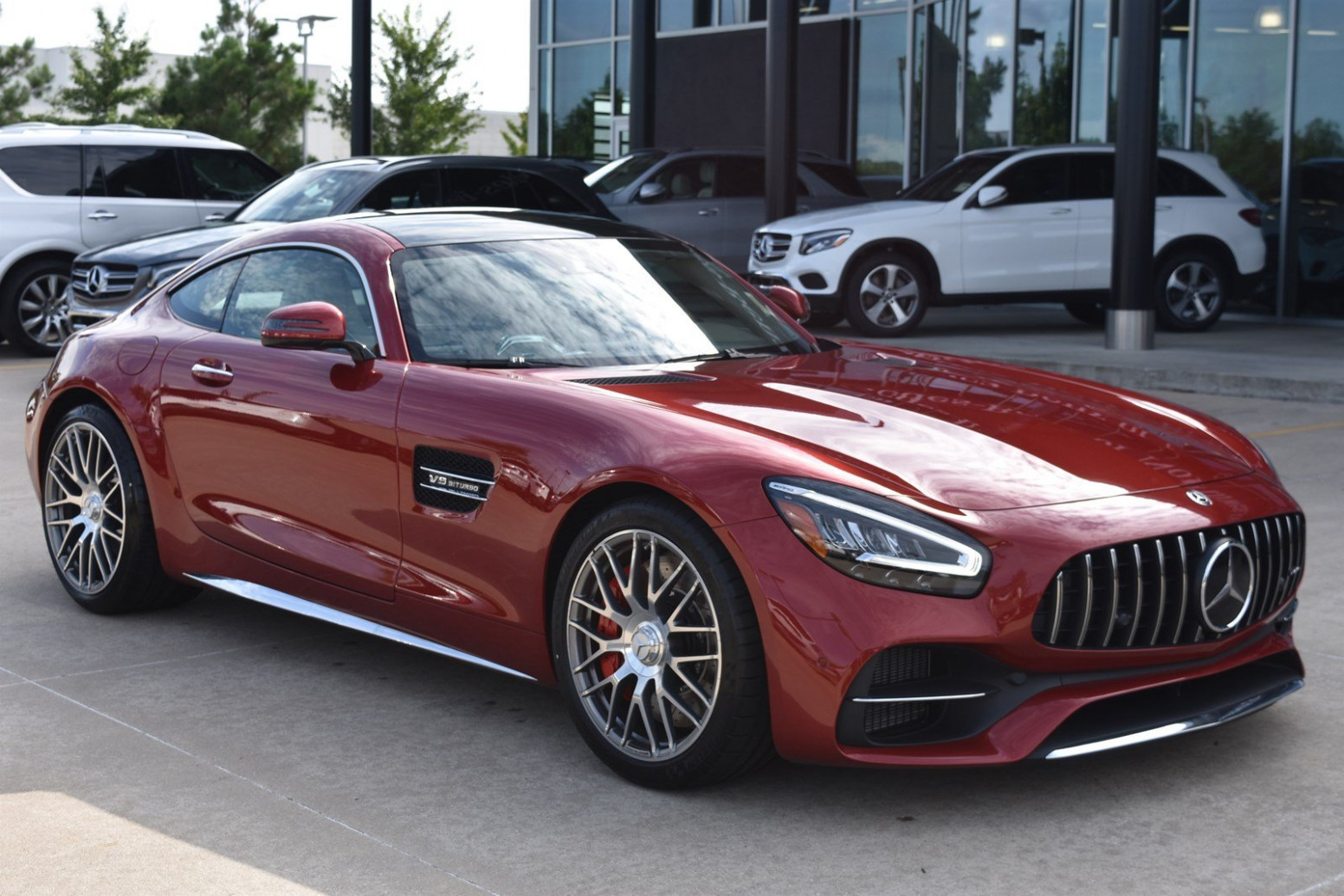New 8 Mercedes-Benz AMG® GT AMG® GT C With Navigation