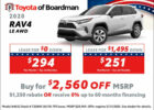 New Vehicle Offers - Toyota of Boardman