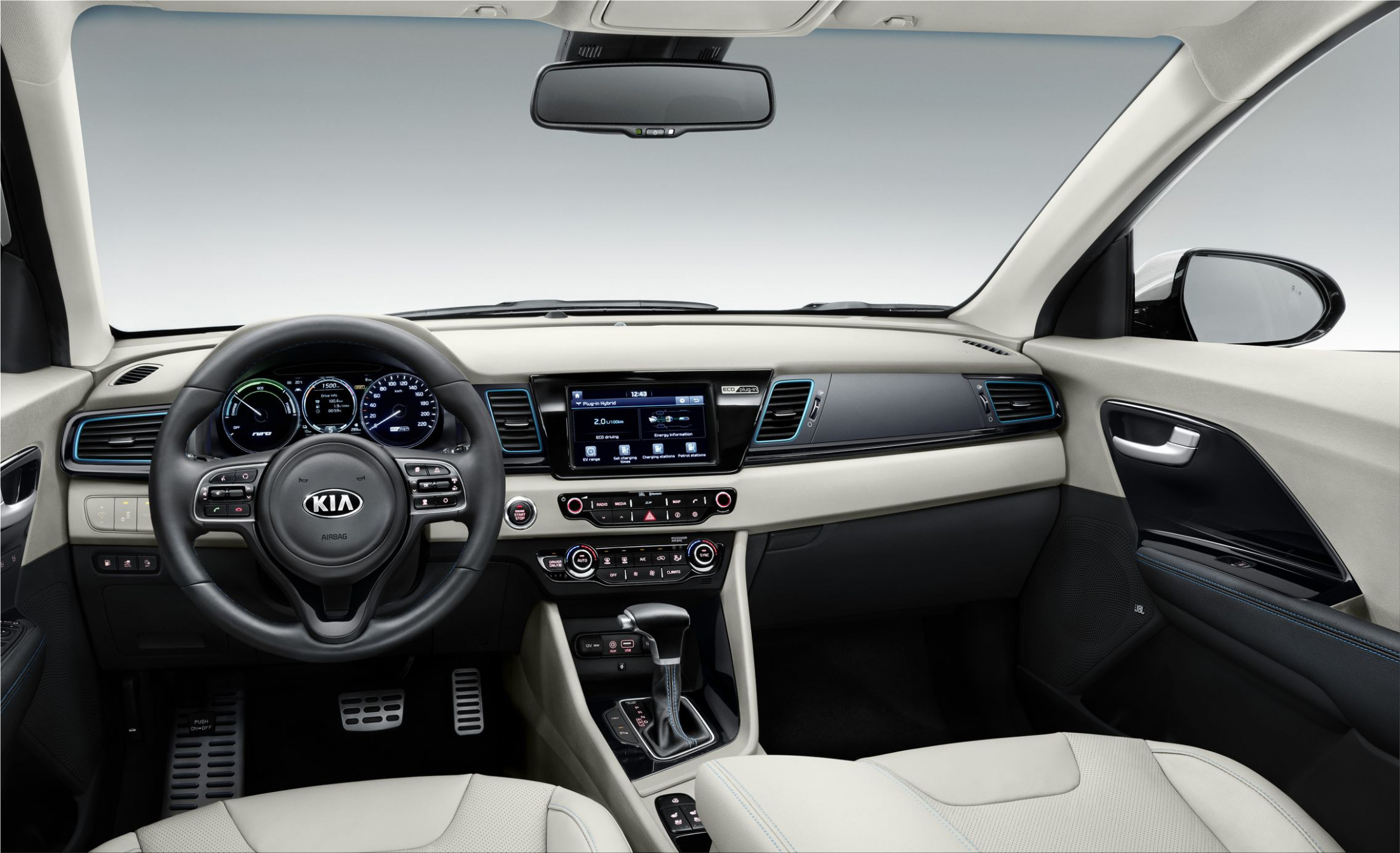 New Versions of Kia Niro Hybrid and Plug-in Hybrid can be ordered ..