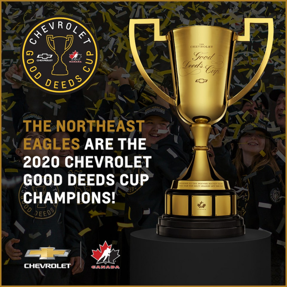 Northeast Eagles - Good Deeds Cup Champions | Chevrolet Canada