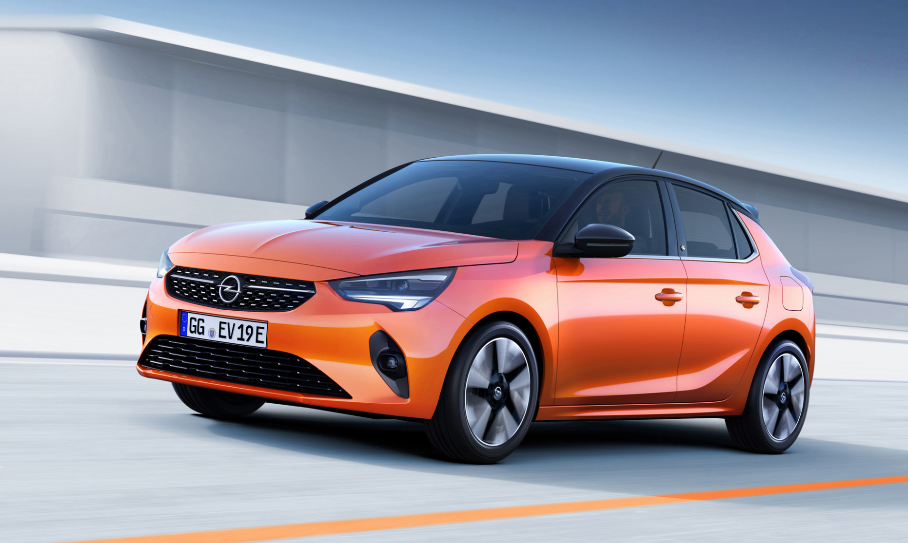Opel's first car post GM is the 8 Corsa-e electric hatch