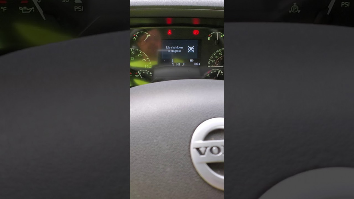 Override Idle Shutdown on 7 Volvo Truck - 2020 volvo idle shutdown override