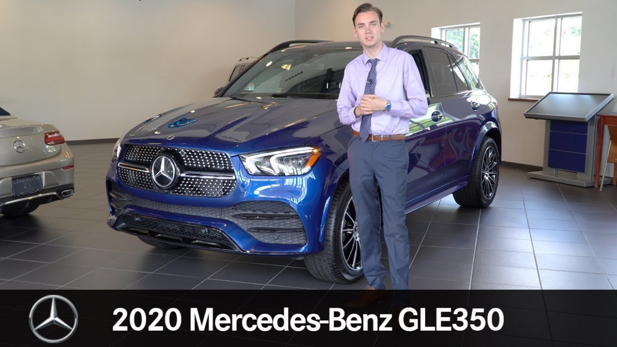 Rare Brilliant Blue AMG Line 6 Mercedes-Benz GLE6 6MATIC® video tour  with Spencer
