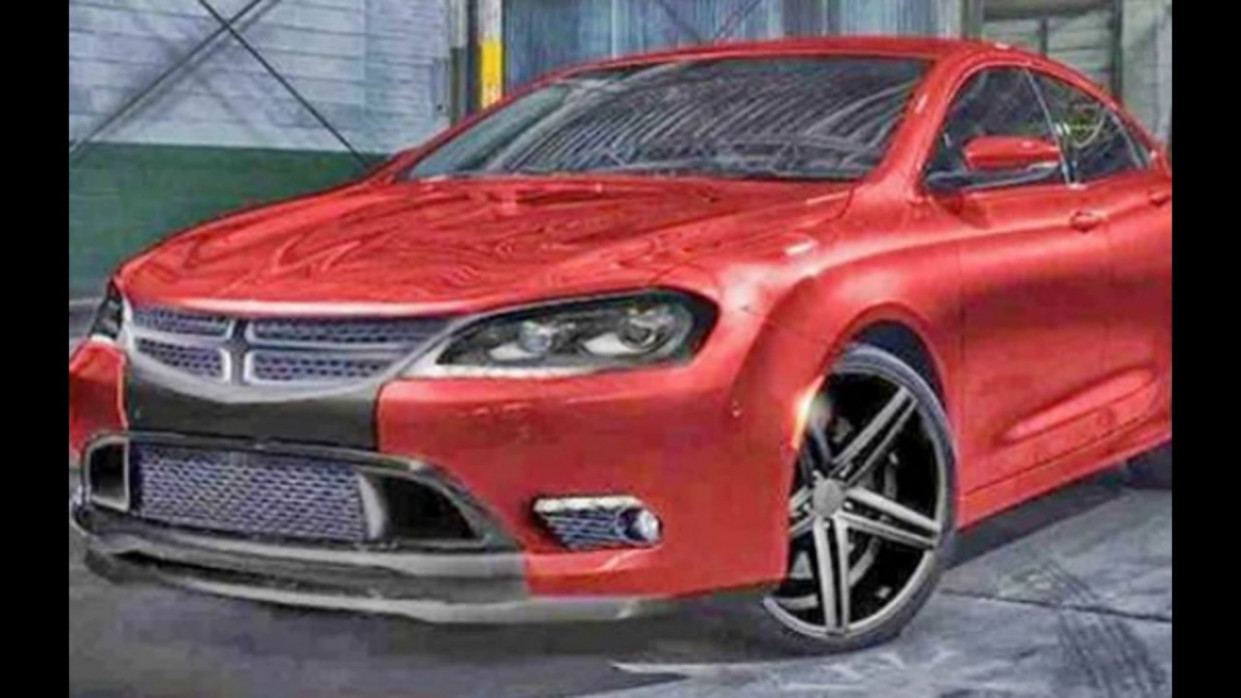 Redesign 8 Dodge Avenger New Hellcat ??!