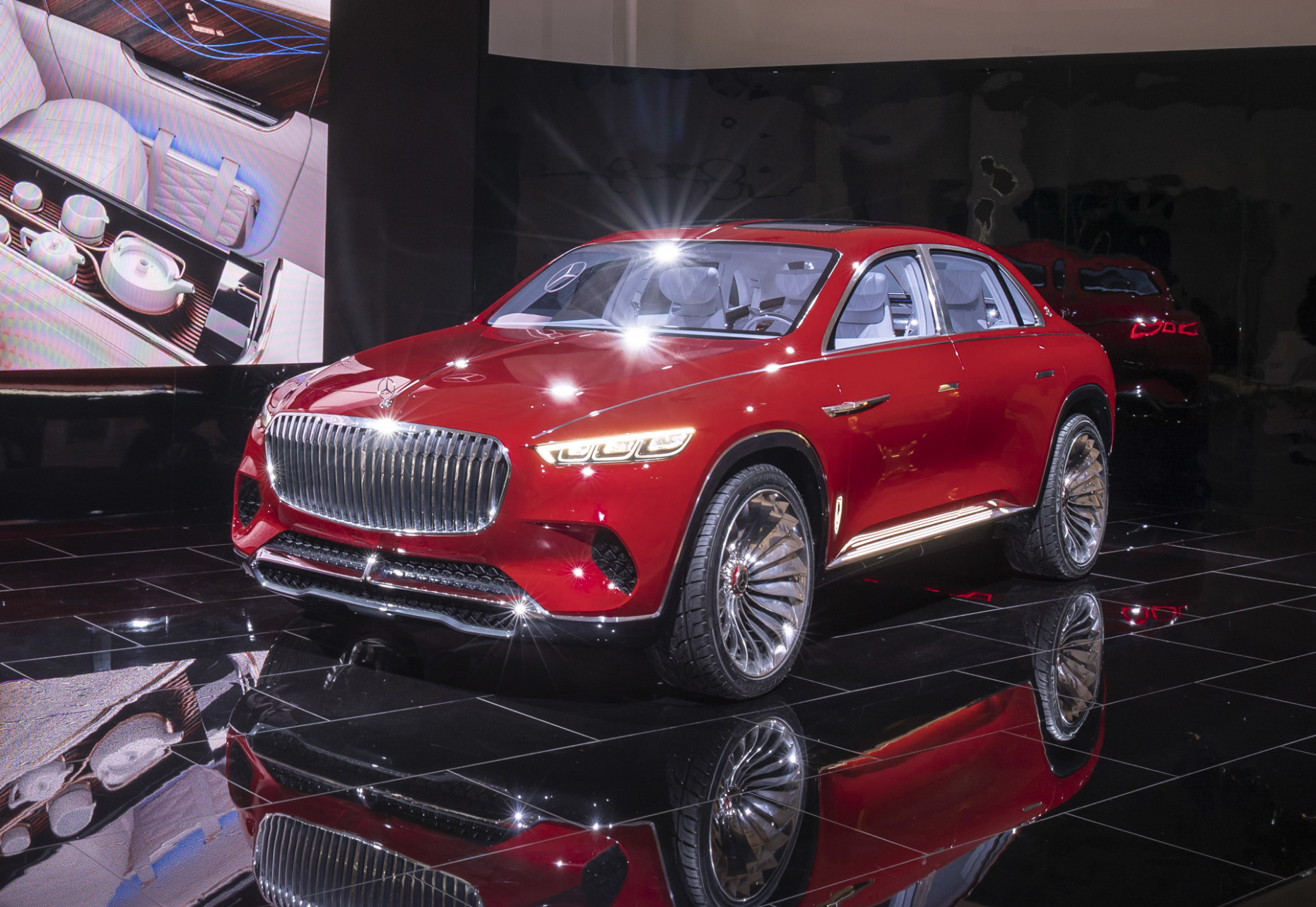 Sedan meets SUV with Mercedes-Maybach Ultimate Luxury concept - mercedes maybach 2020 price