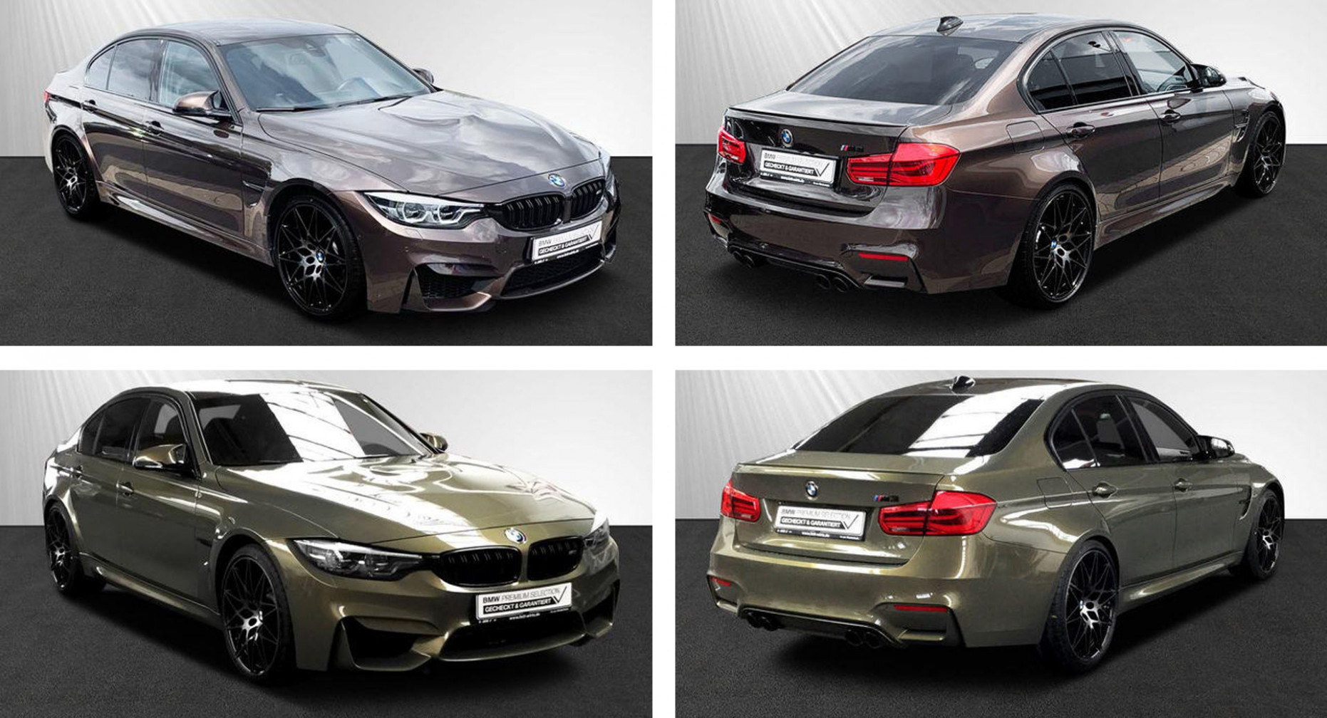 So Shiny, So Weird: Check Out This Pair Of BMW M7 Competitions In ...