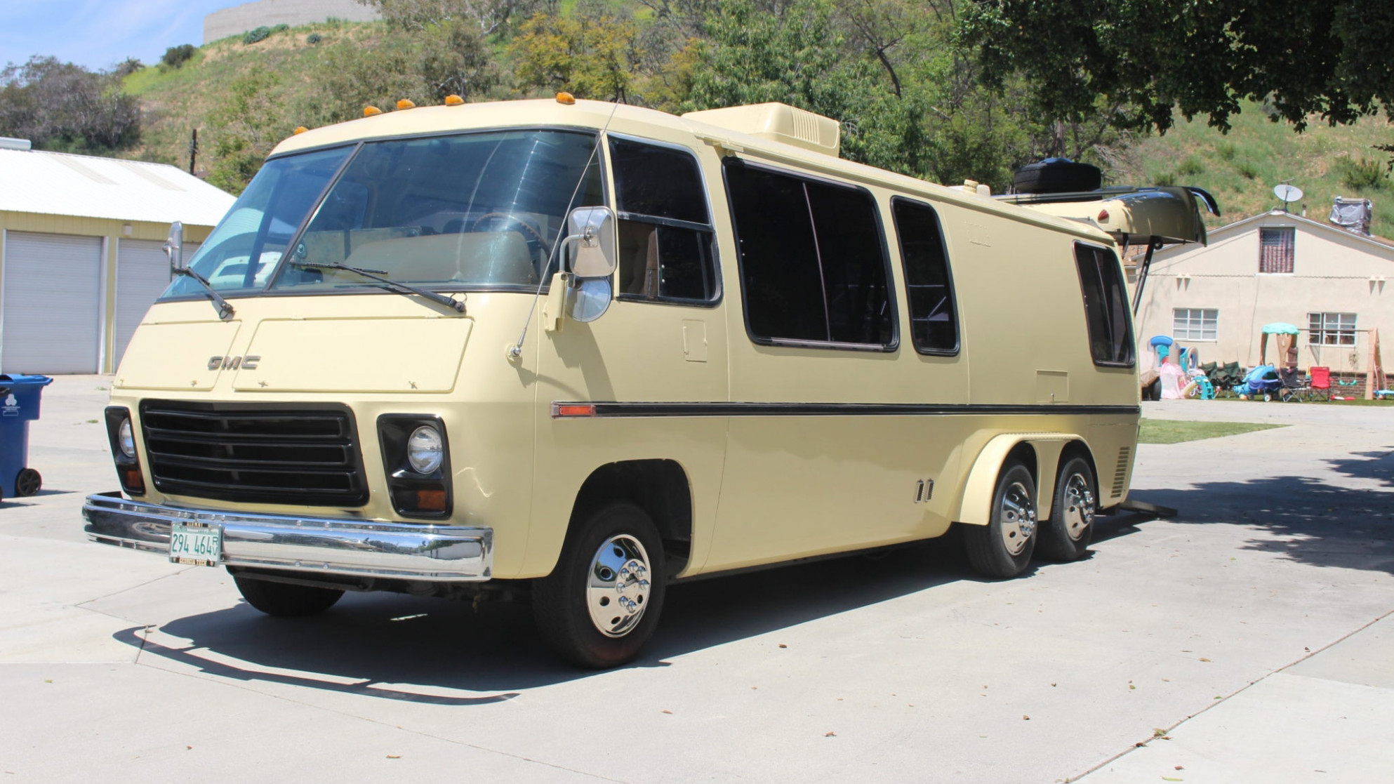 Someone Turned an Iconic GMC Motorhome Into a Sweet Car Hauler