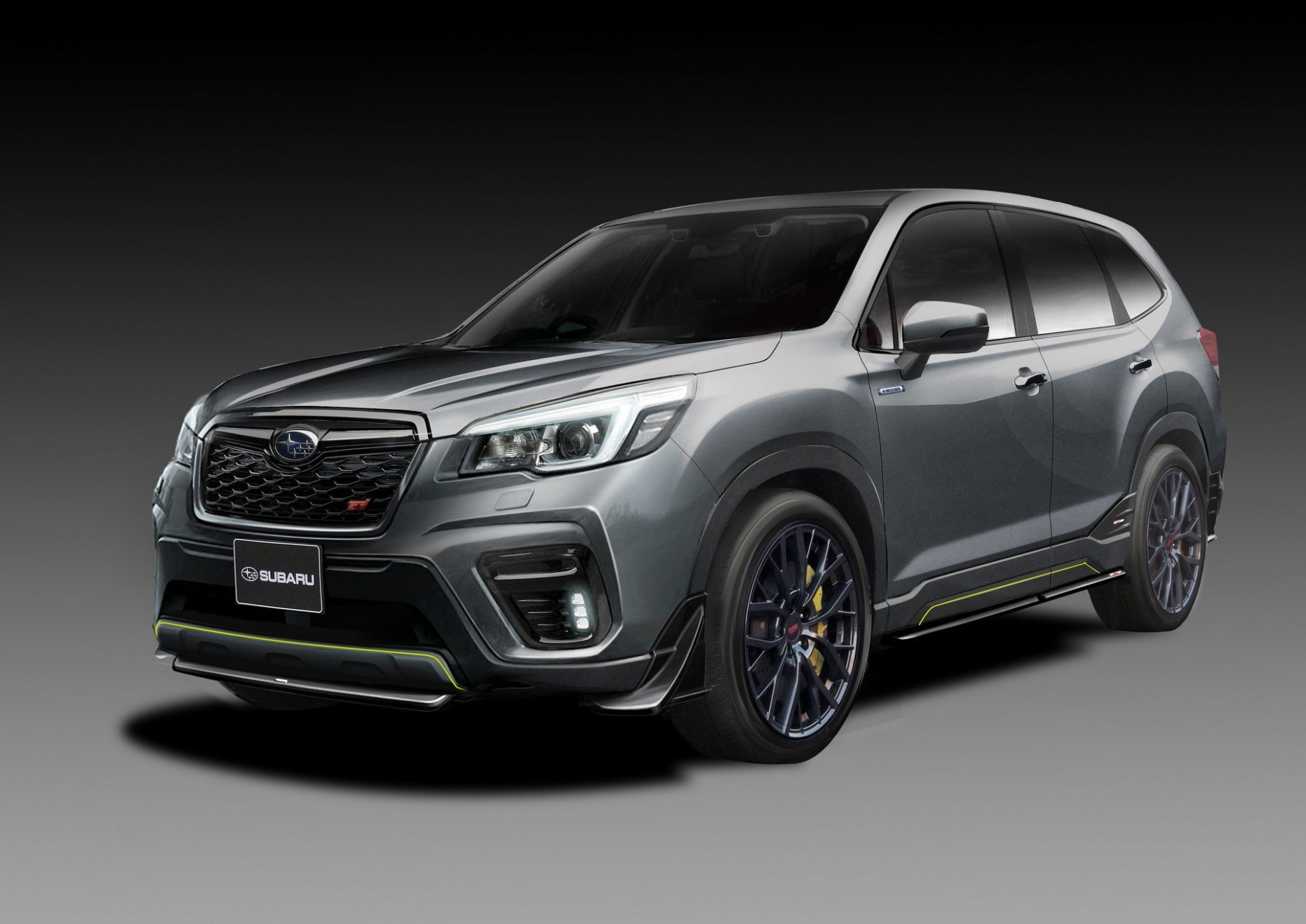 Subaru's STI division has a tuned Forester hybrid for the 6 ...