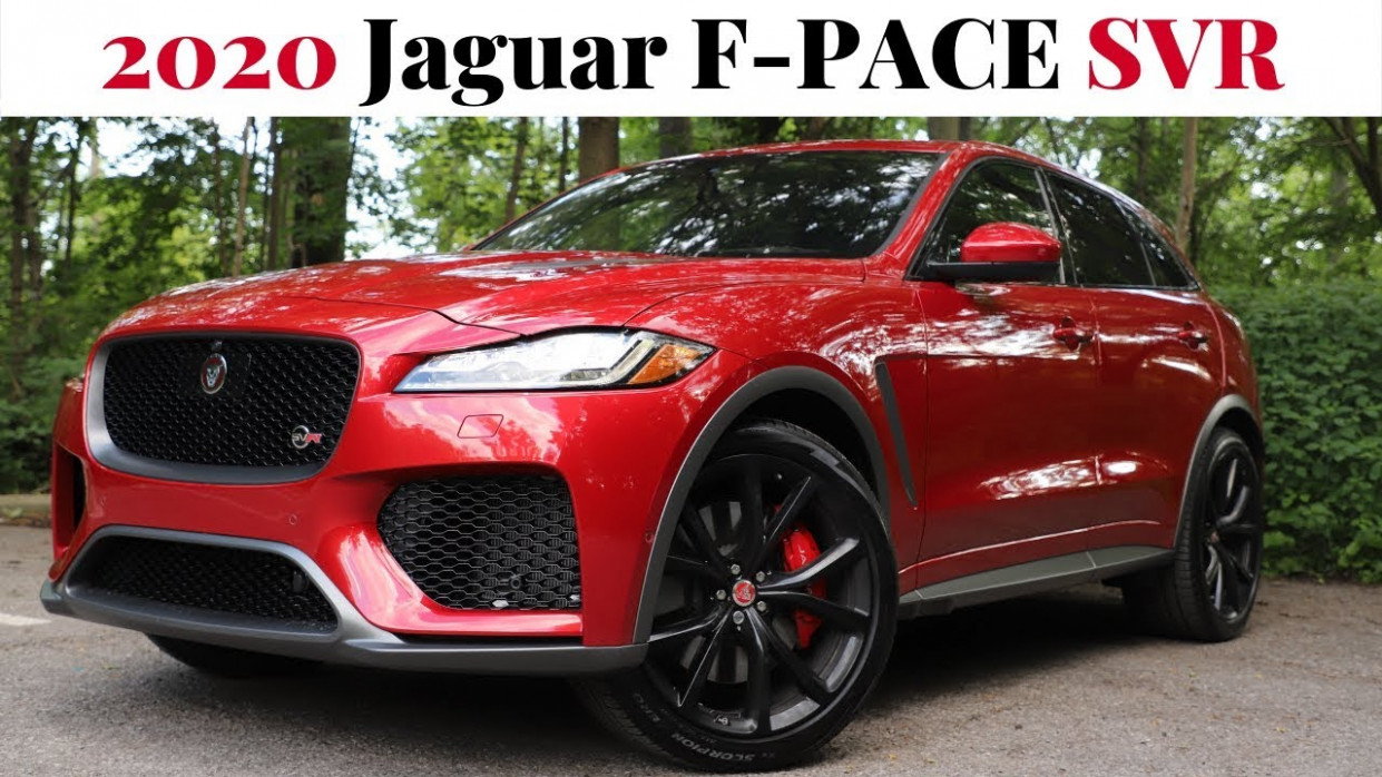 The 6 Jaguar F-PACE SVR - Power, Performance, Prestige