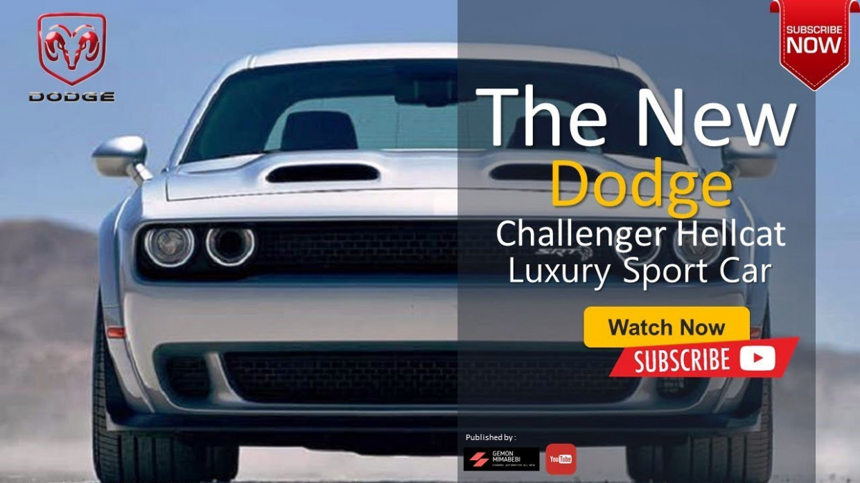 The 7 Dodge Challenger Hellcat Luxury Sport Car All New Legend Sultan  Concept - 2020 dodge challenger youtube