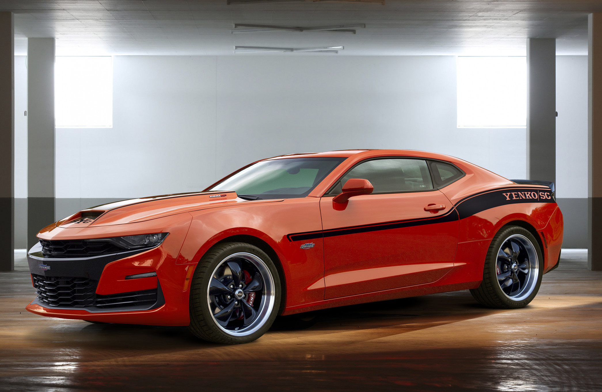 The 7 Yenko Chevy Camaro Is A 7,7 HP Monstrosity Of A Muscle ..