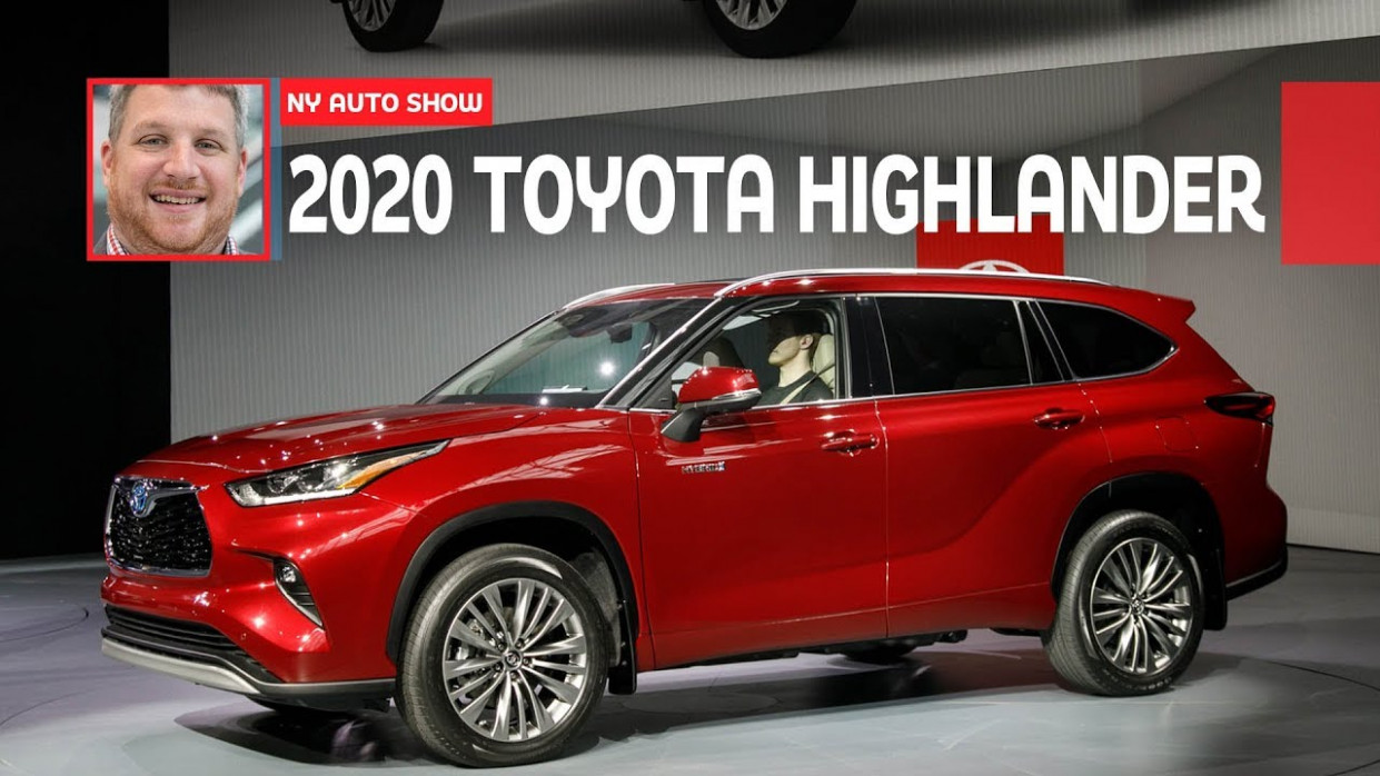 The 8 Toyota Highlander Is The Brand's Best Looking Yet