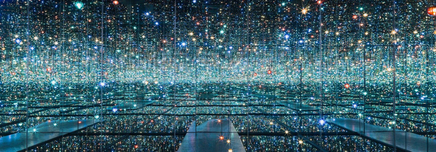 THE BROAD pairs kusama's infinity mirrored room with ambient sound art