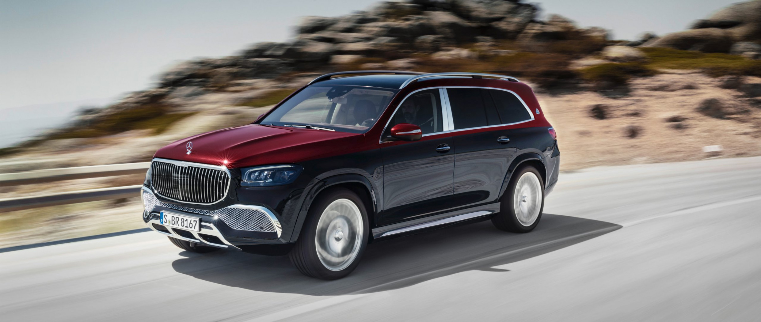The new Mercedes-Maybach GLS.