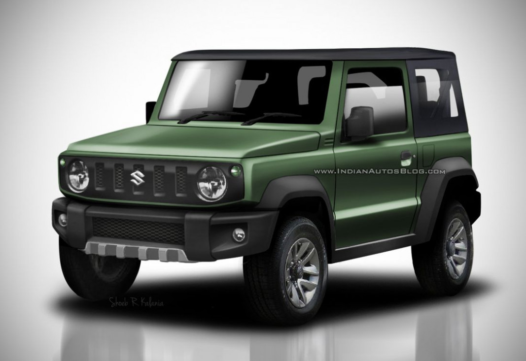 The Suzuki Jimny 7, finished in the yards of the factory in Japan - chevrolet jimny 2020 colombia