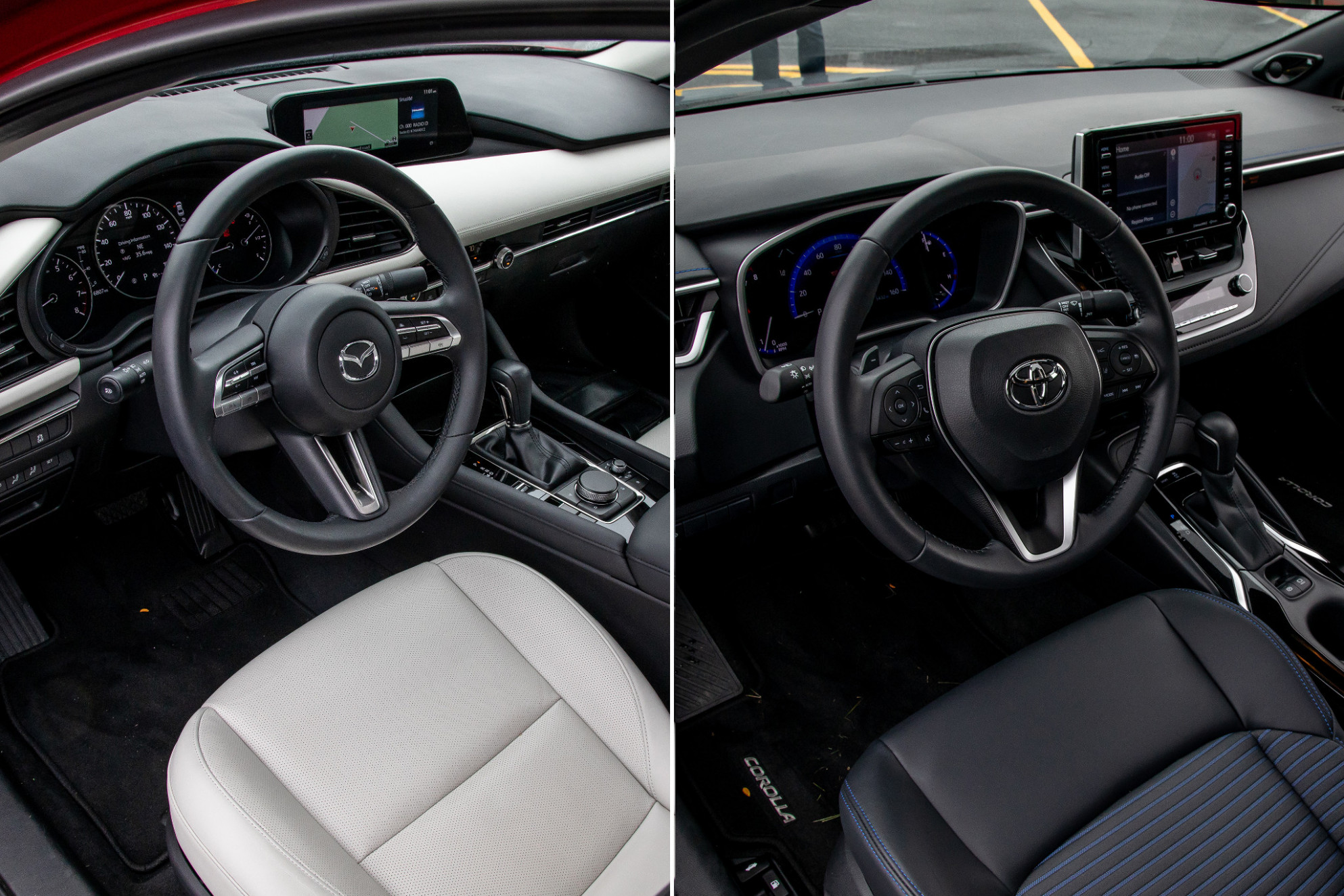The Toyota Corolla XSE Is More Fun to Drive Than a Mazda8, and ...