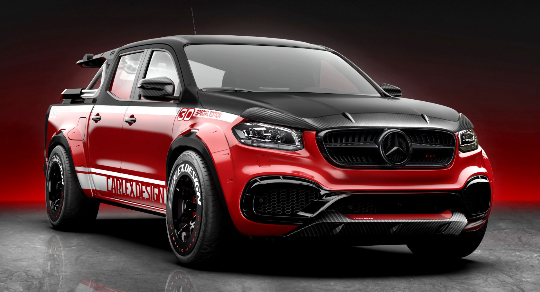 This Mercedes-Benz X-Class Was Tuned For Cycling Enthusiasts ..