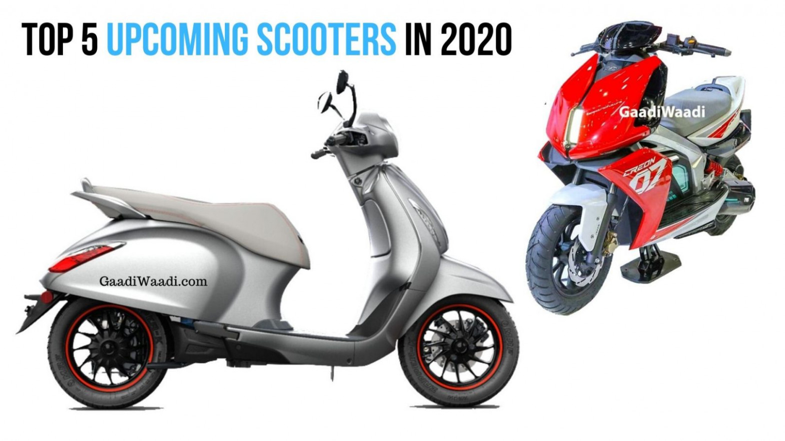 Top 7 Upcoming Scooters In 7 - Activa 7G To Bajaj Chetak EV