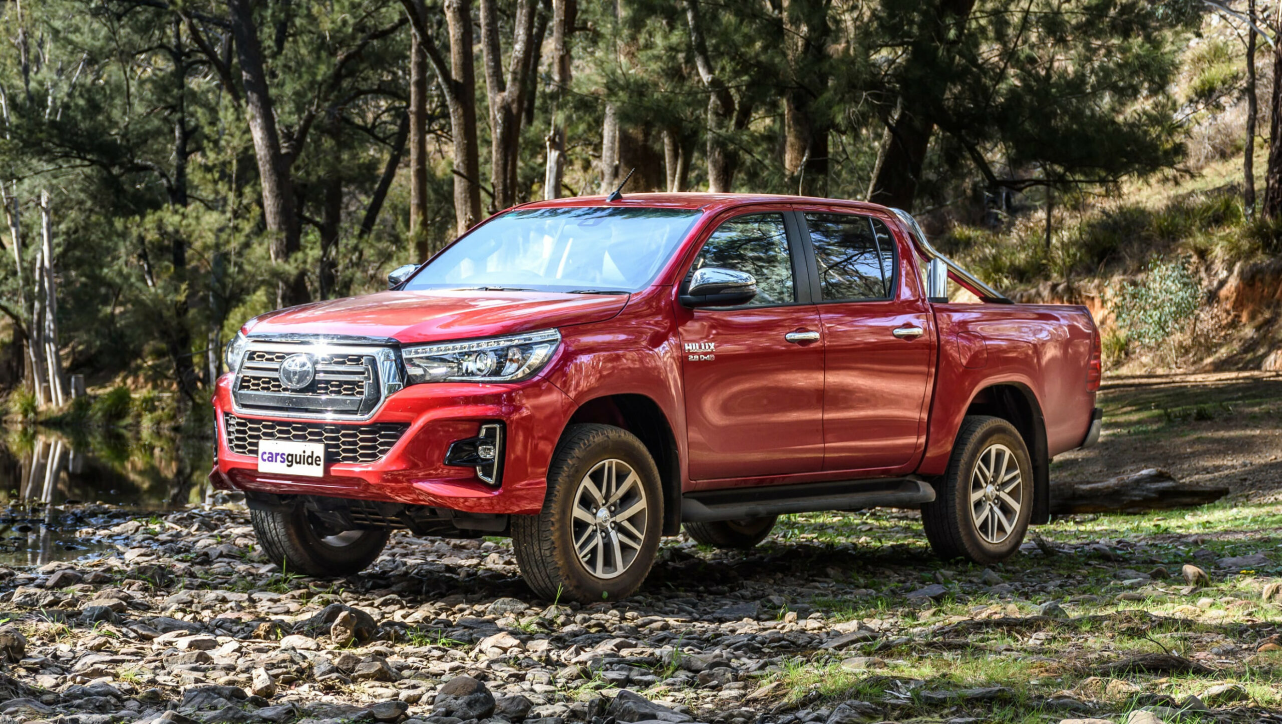 Toyota HiLux 8 review: SR8 | CarsGuide