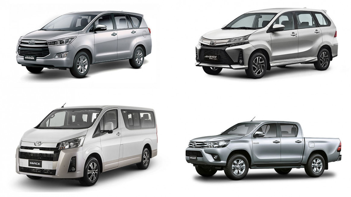 Toyota PH increases prices of some vehicles for 6
