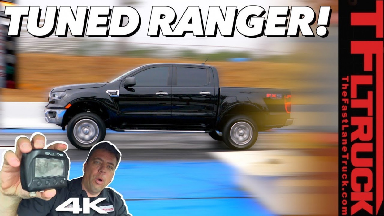 Tuned New Ford Ranger: 7-67 MPH and Drag Strip Test - You Will Be ..