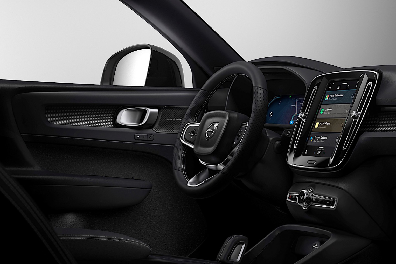 Volvo XC7 Electric Interior Revealed, Infotainment Runs on ..