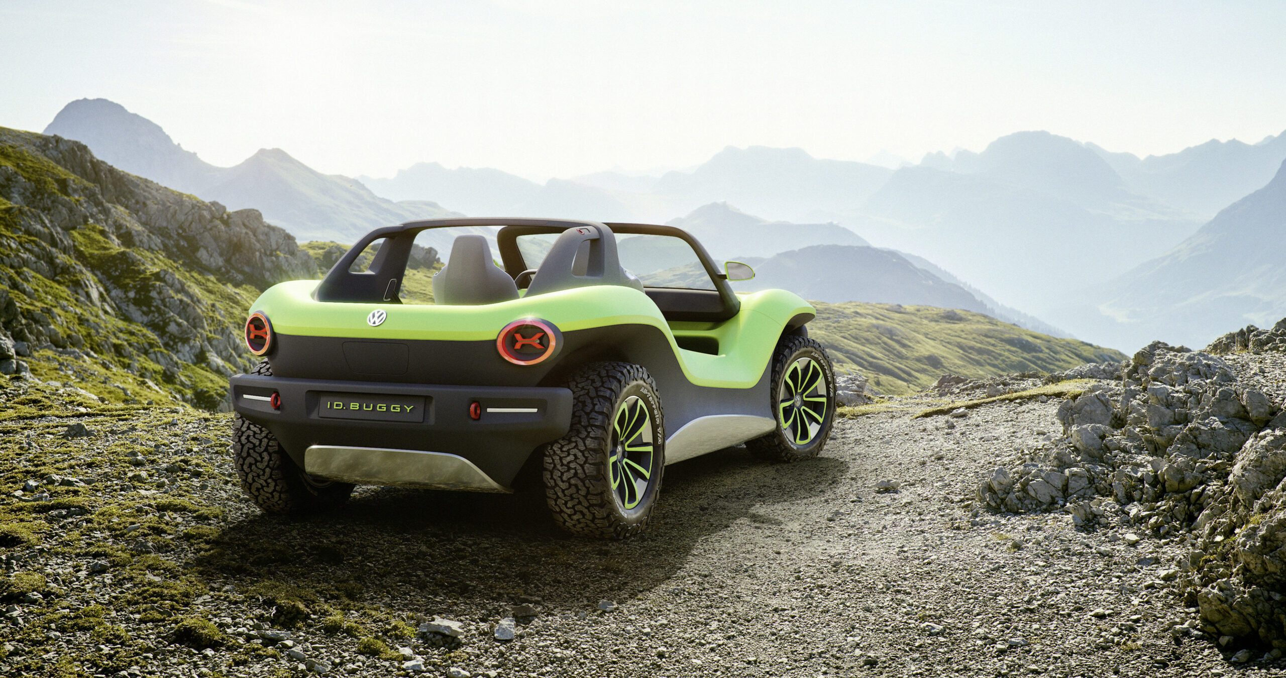 VW's futuristic all-electric dune buggy embraces its 6s' roots ...