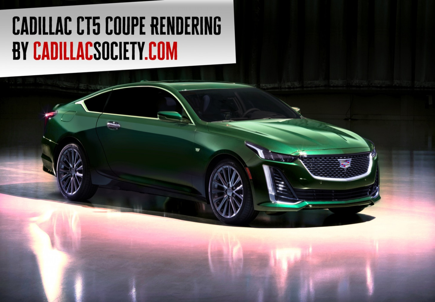 We Render The Cadillac CT6 Coupe