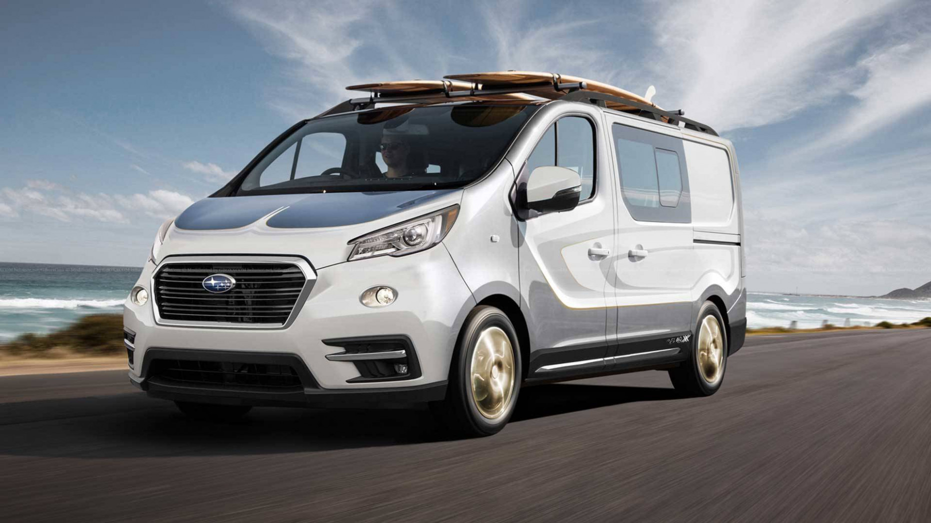 What If BMW, Alfa Romeo, And Subaru Sold Full-Size Vans? [UPDATE]