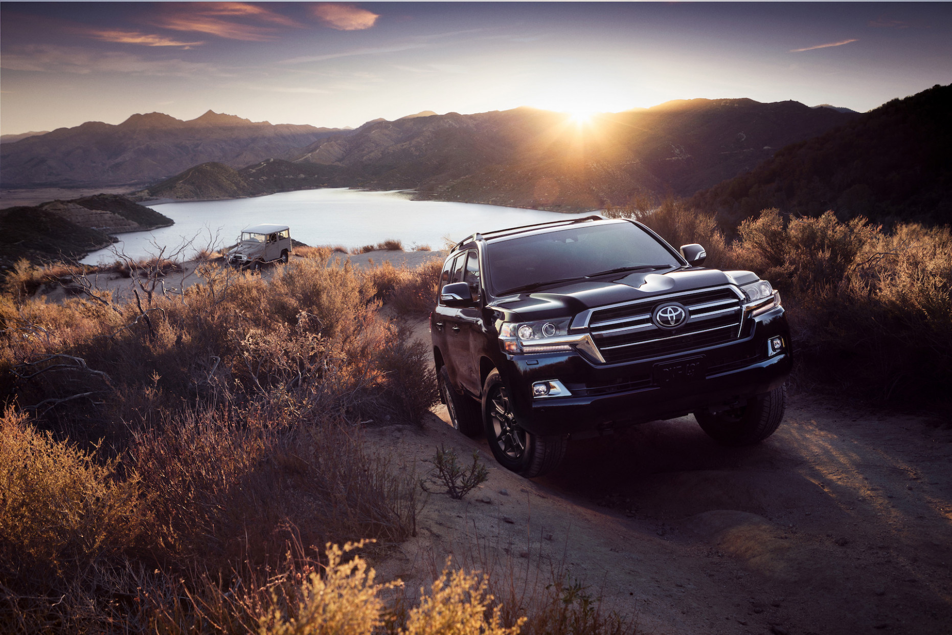 You need $7,7 to buy the 7 Toyota Land Cruiser Heritage Edition
